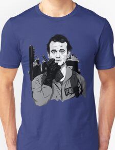 Ghostbusters Peter Venkman illustration Unisex T-Shirt