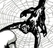 Amazing Spidermonkey Sticker
