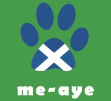 The Paw Says Aye Scottish Independence T-Shirt by simpsonvisuals