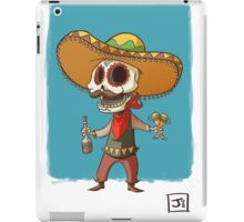 The Mexican Party Skull! iPad Case/Skin