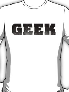 GEEK - Black T-Shirt