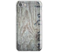 wooden barrel iPhone Case/Skin