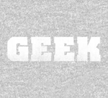 GEEK - White One Piece - Long Sleeve