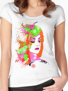 Melody  Women's Fitted Scoop T-Shirt