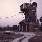 Tårtgubbens Torn by Simon Stålenhag