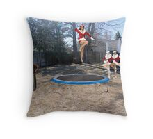 Uh…..I'm pretty sure the boss said you should be working on a ROCKET launcher!! Throw Pillow