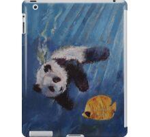Panda Diver iPad Case/Skin