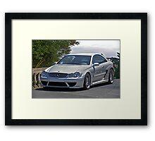 2007 Mercedes CLK 63 AMG Framed Print