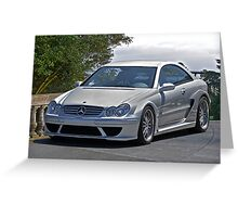 2007 Mercedes CLK 63 AMG Greeting Card