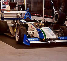Indy Car 'In the Pits' by DaveKoontz