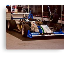 Indy Car 'In the Pits' Canvas Print