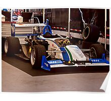 Indy Car 'In the Pits' Poster