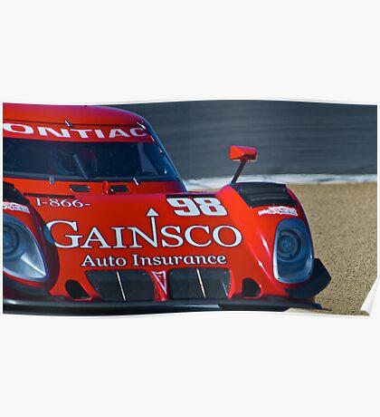 LeMans Prototype Race Car Poster