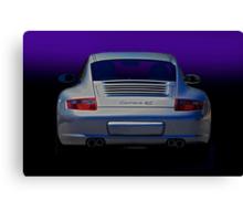 Porsche Carrera 4S Canvas Print