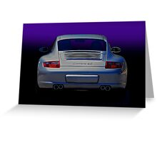 Porsche Carrera 4S Greeting Card