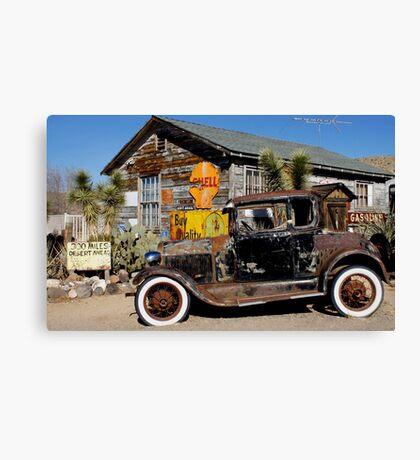 Vintage Ford Car Canvas Print