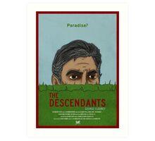 The Descendants  Art Print