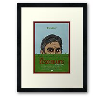 The Descendants  Framed Print
