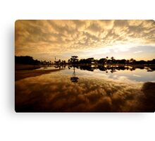Urban Sunset 2 Canvas Print