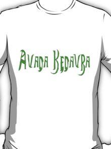 Harry Potter Spell Avada Kedavra T-Shirt