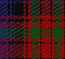 01704 Bonner or Bonnar Tartan Fabric Print Iphone Case by Detnecs2013