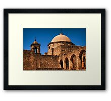 Reaching Up To Touch The Hand Of God Framed Print