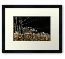 Nocturnal Point of View Framed Print