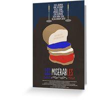 Les Misérables Greeting Card