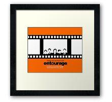 Entourage Framed Print