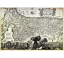 1702 Visscher Stoopendaal Map of Israel Palestine or the Holy Land Geographicus PerigrinatiaeVeertich stoopendaal 1702 Photographic Print