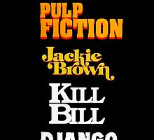 Quentin Tarantino Title Cards by kmorris-b