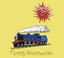 Flying Scotsman for Kids T-shirt Kids Tee