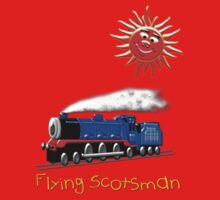 Flying Scotsman for Kids T-shirt One Piece - Long Sleeve