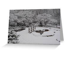 Sleeping Ponds Greeting Card