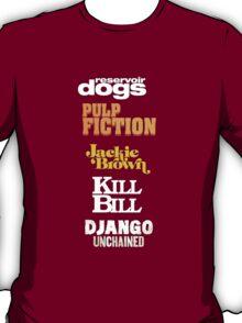 Quentin Tarantino Title Cards T-Shirt