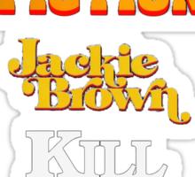 Quentin Tarantino Title Cards Sticker