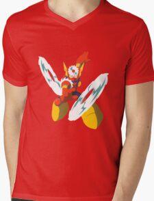 Metal Man Mens V-Neck T-Shirt