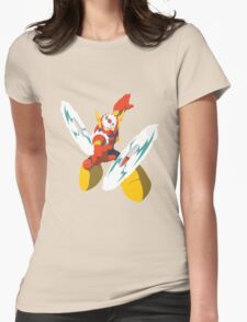 Metal Man Womens Fitted T-Shirt