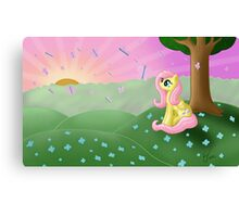 Fluttershy's Butterfly Bliss Canvas Print