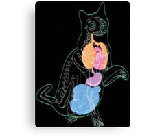 The Cat Inside Canvas Print