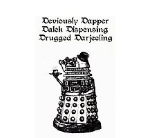 Dastardly Dalek iPhone Case by gothscifigirl