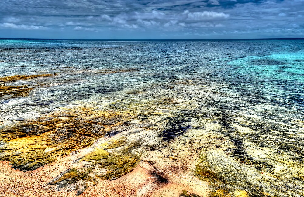 Looking East from Nassau, The Bahamas by Jeremy Lavender Photography