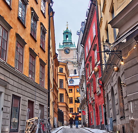 Lost in Gamla Stan by João Figueiredo