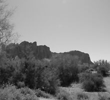 Superstition Mountain by Jason Avery