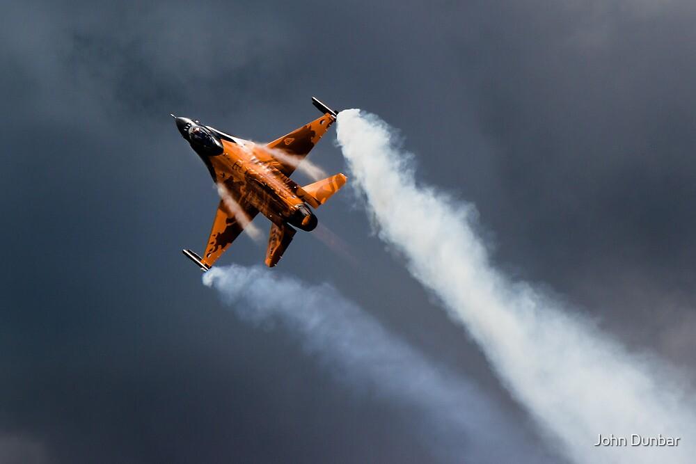F16 Falcon by John Dunbar