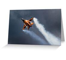 F16 Falcon Greeting Card