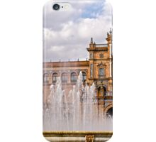 Plaza de Espana - Seville - HDR iPhone Case/Skin
