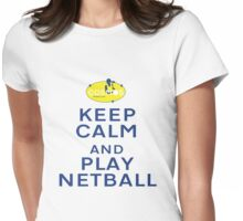 Cosmos Keep Calm... Womens Fitted T-Shirt