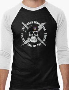 Air Force TACP Skull Men's Baseball ¾ T-Shirt