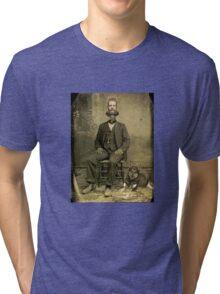 Stuart of the steam clock  Tri-blend T-Shirt